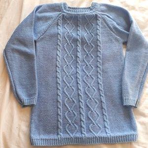 Rococo Girls Size 5 Light blue Tunic Sweater